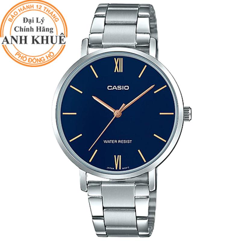 Đồng hồ nữ dây kim loại Casio Anh Khuê LTP-VT01D-2BUDF