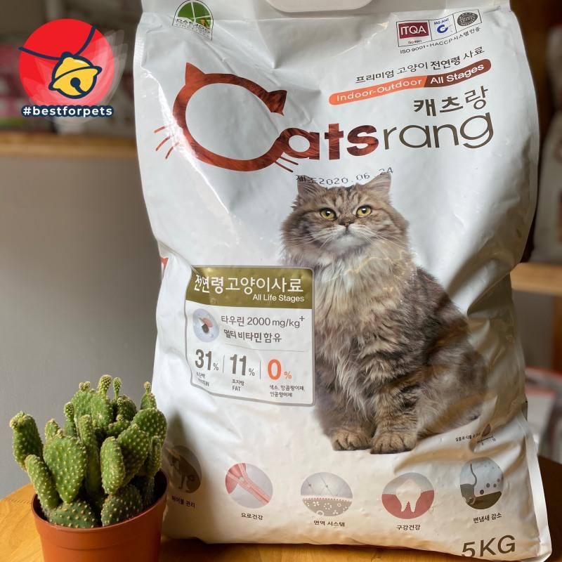 Hạt Catsrang cho mèo - Túi chiết 1kg