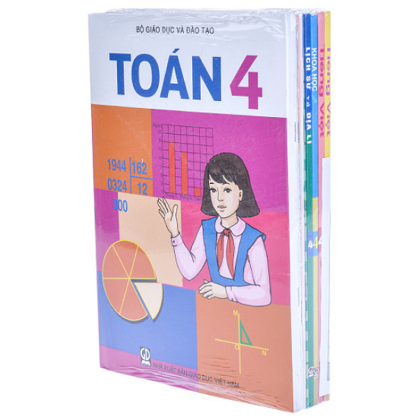 Bộ sách giáo khoa lớp 4 - 8 quyển