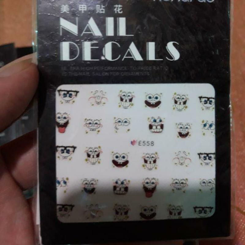 Hình Dán Sticker 3D Trang Trí- 2 tấm
