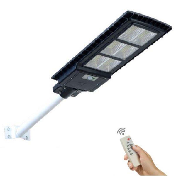 Bộ đèn led đường cảm ứng năng lượng mặt trời 90W