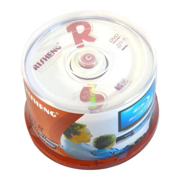 Bảng giá Đĩa dvd trắng ,Đĩa trắng DVD Risheng 1 lốc 50 cái 4.7G Phong Vũ