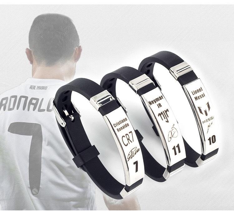 Vòng Tay Ronaldo - Messi- Neymar - Hazard - Bale - Mbappe - Torres Giá Tốt Duy Nhất tại Lazada