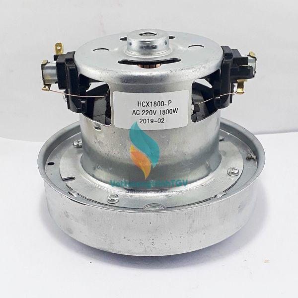 Motor máy hút bui 220V-1800w, Đường kính bầu gió 13cm