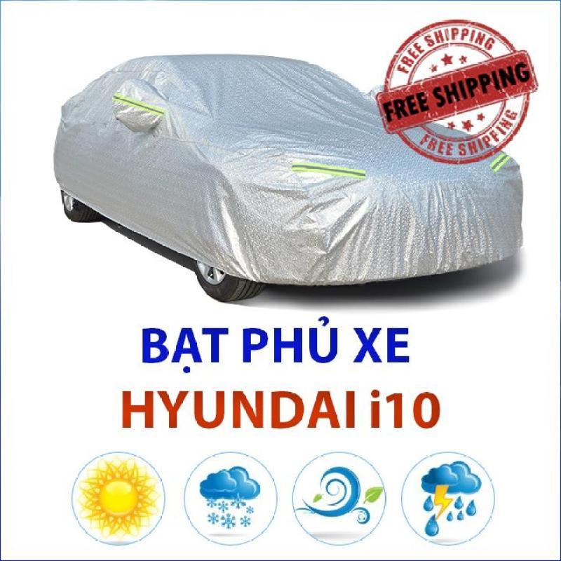 Bạt phủ xe Hyundai Grand i10 Sedan, bạt phủ xe hơi, bat trum xe oto, bạt trùm ô tô chống nắng, bạt phủ xe ô tô chống mưa, bạt chống nắng xe ô tô, bạt chống nắng xe hơi, bạt che ô tô