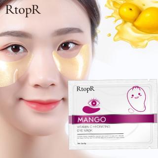 RtopR xoài vitamin C dưỡng ẩm chống lão hóa da mắt, serum miếng dán mắt vitamin C Hydrating màu vàng chăm sóc loại bỏ nếp nhăn và quầng thâm - INTL thumbnail