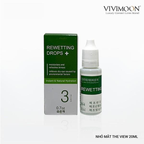 Giá bán Nước nhỏ mắt chuyên dụng cho lens Hàn Quốc VIVIMON THE VIEW 20ml