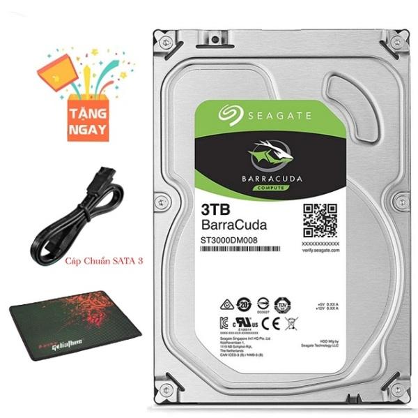 Bảng giá Ổ cứng HDD Seagate 3TB(3000GB) 7200RPM 3.5inch Phong Vũ