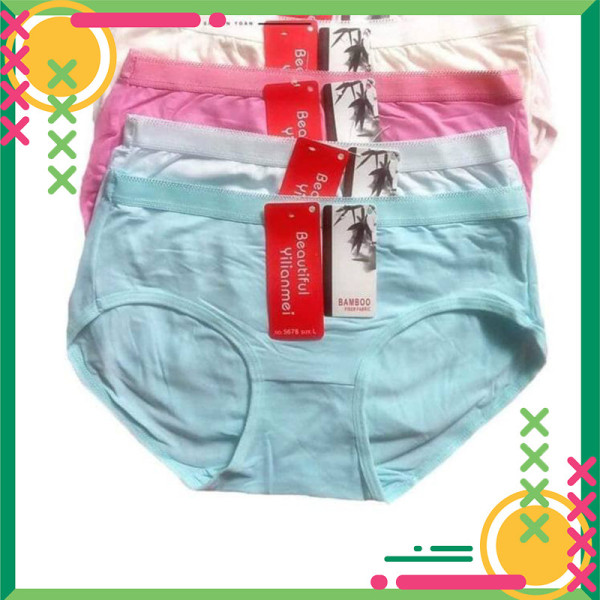 Nơi bán Quần chip nữ [QUÀ TẶNG 10K] Set 10 quần lót nữ thái lan chất cotton siêu đẹp,có BigSize VT-03 VIỆT TIẾN
