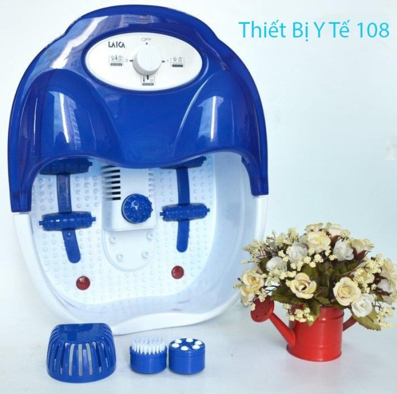 Bồn Ngâm Chân Massage Laica PC1301 italy