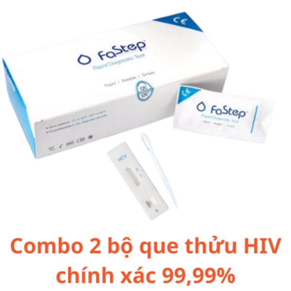 Bộ 3 Que test thử HIV FASTEP của Mỹ chính xác 99,99% (BẢO MẬT THÔNG TIN KH)