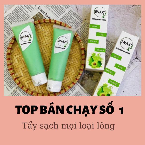 KEM TẨY TRIỆT LÔNG DỨT ĐIỂM- IWAX sạch bay lông  toàn BODY. Sản phẩm ưa chuộng số 1 + tặng kèm thìa và khăn tẩy lông