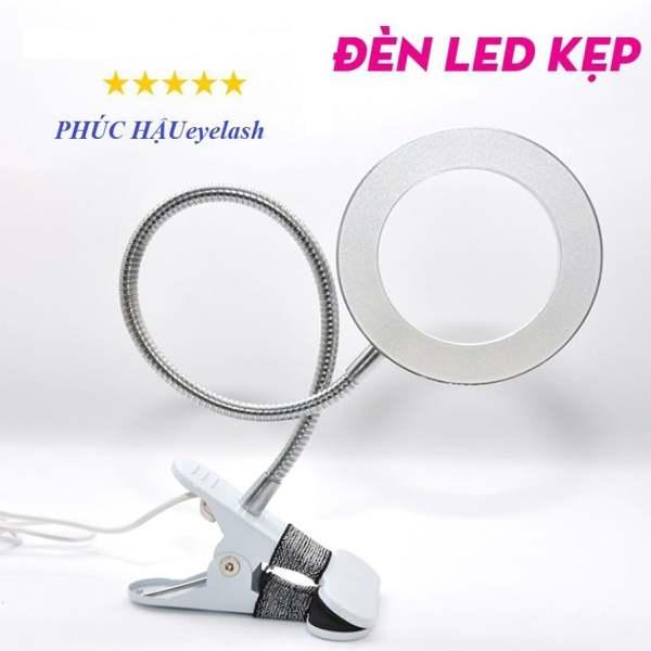 Đèn led mini kẹp bàn nối mi, đèn led kẹp bàn làm nail,học tập