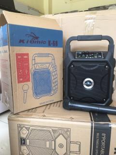 [HCM]Loa Karaoke di động Kiomic K68 - Tặng kèm 1 không dây - Bảo hành 1 đổi 1 - Giao hàng toàn quốc thumbnail