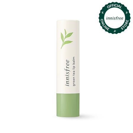 Son dưỡng môi từ trà xanh Innisfree Green Tea Lip Balm 3.6g chính hãng
