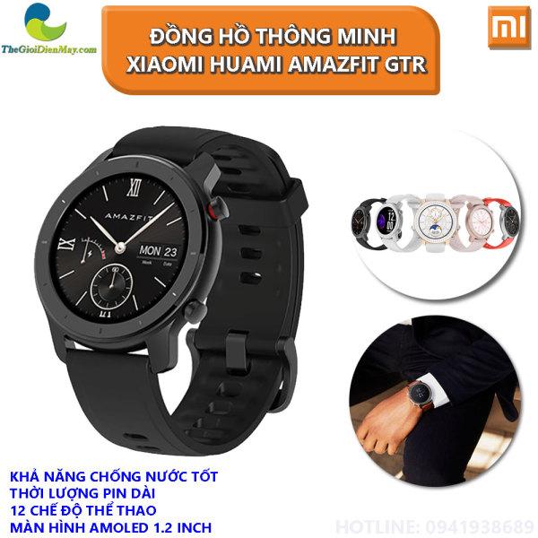 [Bản Quốc Tế] Đồng hồ thông minh Xiaomi Huami Amazfit GTR 42mm - Bảo Hành 12 Tháng