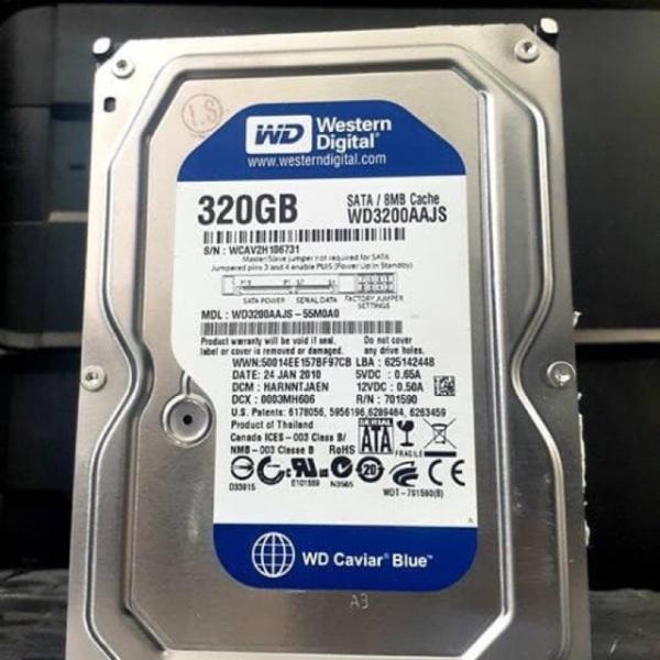 Bảng giá Ổ cứng PC máy để bàn HDD 500g 320G 250GB 160GB 80GB 7200rpm Sata- Tặng kèm Cáp Sata Phong Vũ