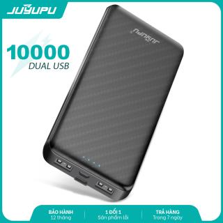 Sạc dự phòng 10000mAh mini pin sạc đèn LED giá rẻ chính hãng JUYUPU RX180 dành cho iPhone Samsung OPPO VIVO HUAWEI XIAOMI cục sạc dự phòng thumbnail
