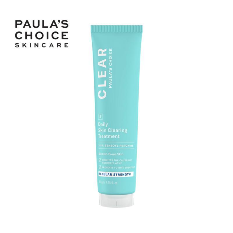 Kem ngăn ngừa mụn giảm sưng đỏ Clear Regular Strength Daily Skin Clearing Treatment 2,5% Benzoyl Peroxide 67ml 6100 giá rẻ
