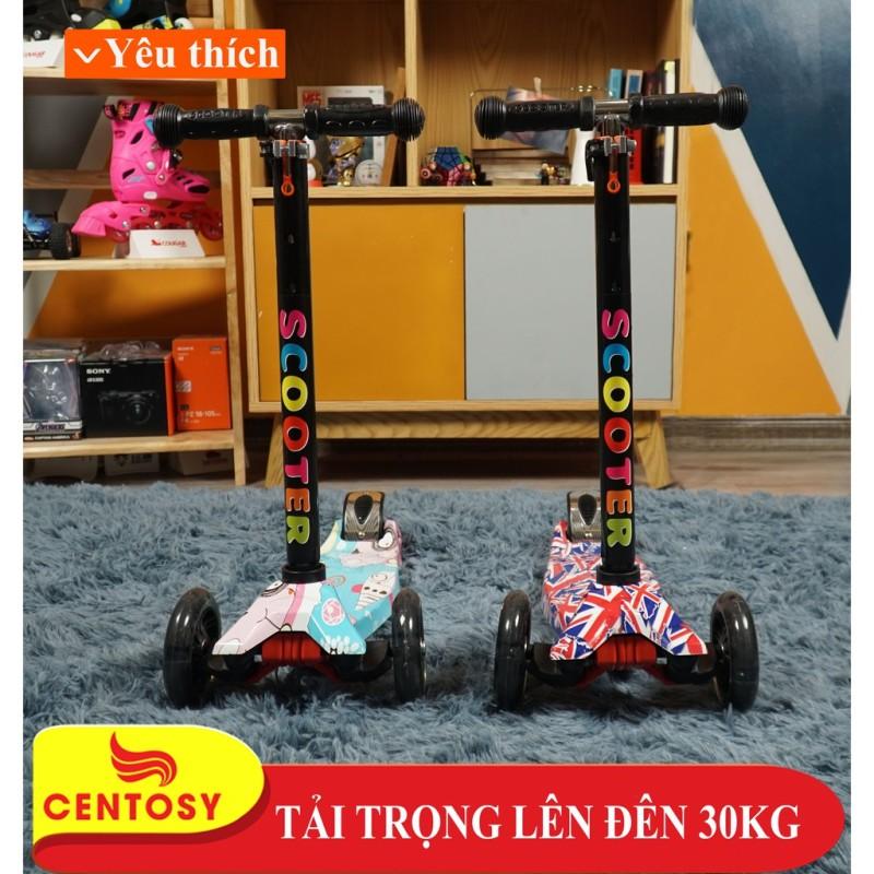 Mua Xe Trượt Scooter 036ZM Cao Cấp - Dành cho bé từ 3 đến 9 tuổi