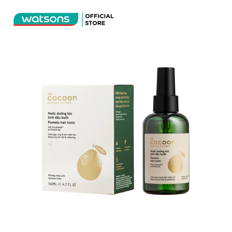 Nước Dưỡng Tóc Cocoon Pomelo Hair Tonic Tinh Dầu Bưởi Giảm Gãy Rụng Và Làm Mềm Tóc 140ml giá rẻ