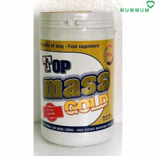 Sữa bột Top Mass Gold 800g tăng cân - Vani thumbnail