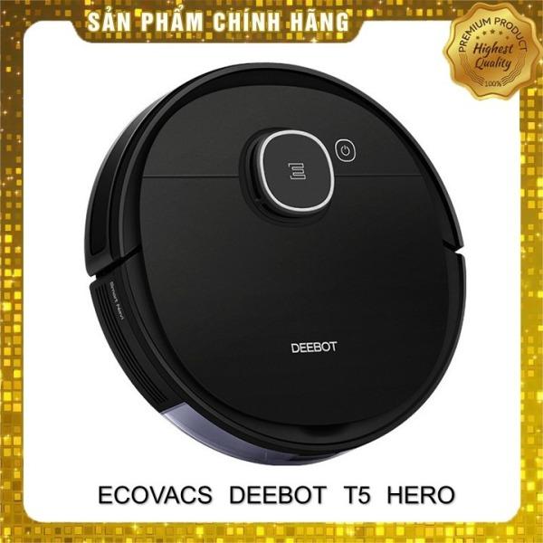 Robot hút bụi lau nhà Ecovacs Deebot T5 Hero _Hàng trưng bày chưa qua sử dụng_ Tặng App ecovacs home