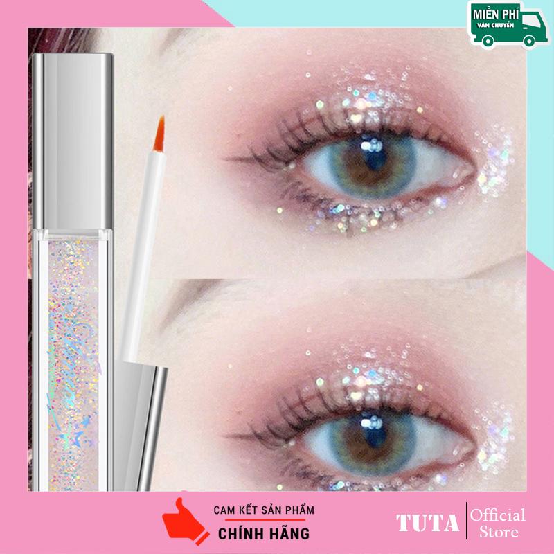 TUTA - Nhũ mắt màu ánh kim tuyến lấp lánh tuyệt đẹp nhũ lỏng trang điểm thời thượng NHU-MAT nhập khẩu