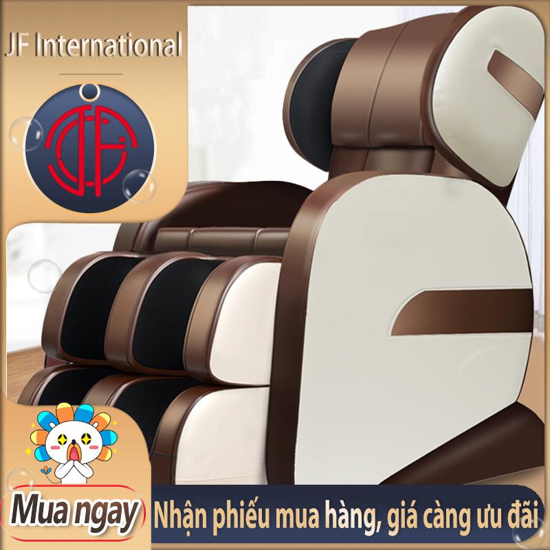 [HCM][Trả góp 0%] Ghế massage máy mát xa toàn tự động xoa bóp đa chức năng từ cổ đến chân cảm giác không trọng lực JF International
