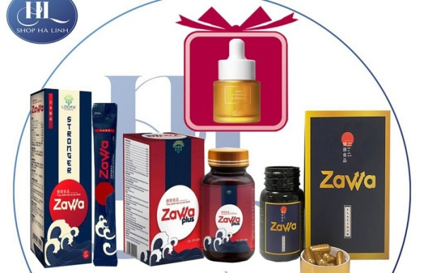 ZAWA- Viên uống chống xuất tinh sớm, bổ thận cường dương hộp 24 viên chính hãng 100% giá rẻ
