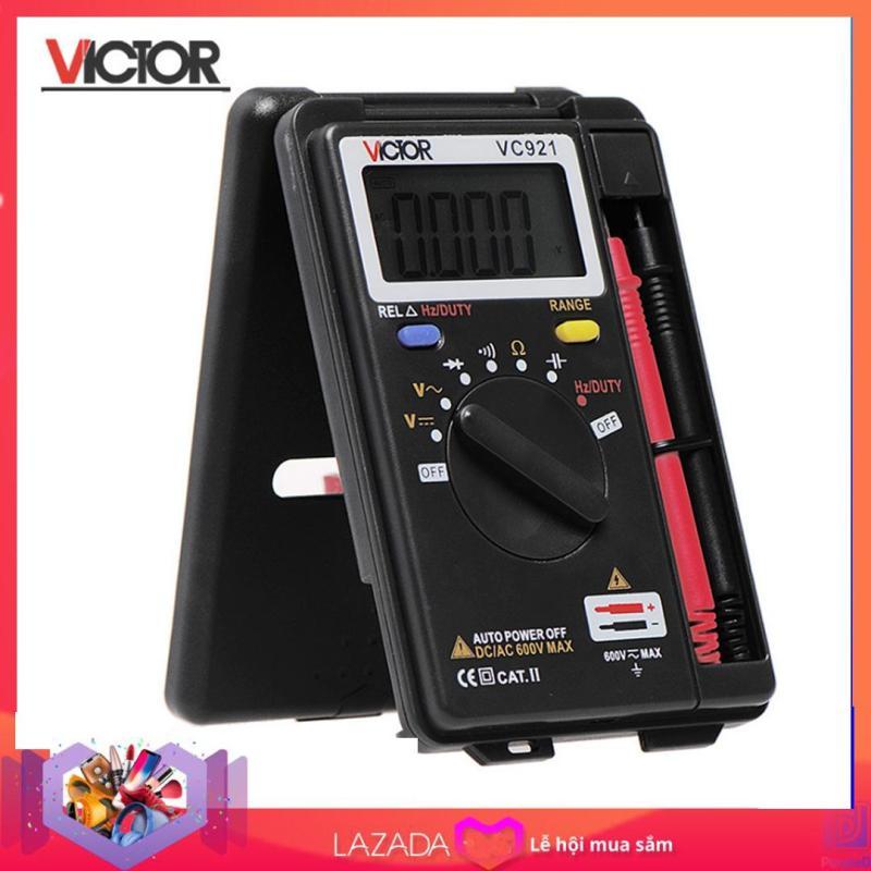 Đồng hồ đo điện vạn năng kỹ thuật số bỏ túi VICTOR VC921