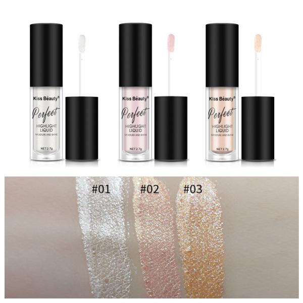 Cây Nhũ Mắt + Má Kiss Beauty Perfect Moisture And Shine giá rẻ