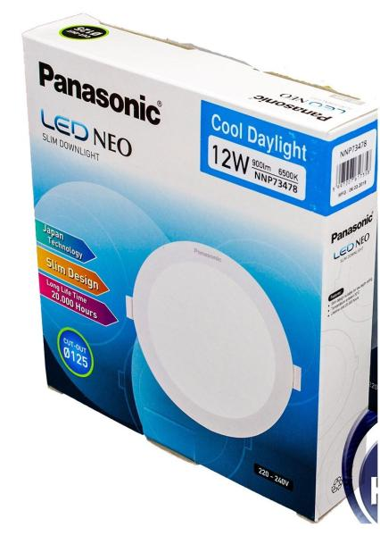 LED NEO SLIM DOWNLIGHT - PANASONIC - NNP73478 - 12W - 6500K