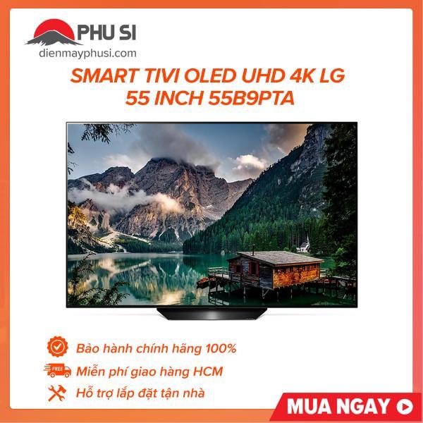 Bảng giá Smart tivi OLED UHD 4K LG 55 inch 55B9PTA, sở hữu thiết kế tinh xảo và đẹp mắt của LG OLED TV mang đến điểm nhấn độc đáo cho phong cách nội thất hiện đại nhà bạn