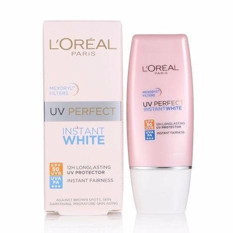 Kem Chống Nắng Dưỡng Trắng Da LOréal UV Perfect Instant White SPF50 PA++++ - 30ml Chưa Có Đánh Giá tốt nhất