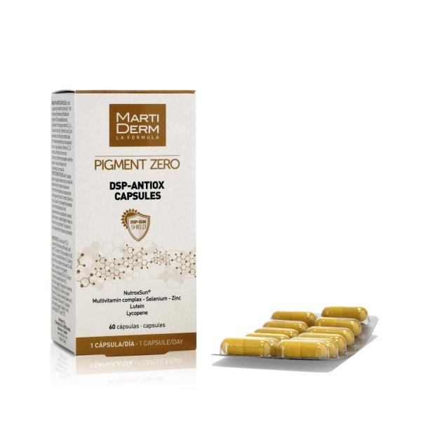 Viên Uống Chống Nắng, Làm Sáng Da - MartiDerm Pigment Zero DSP Antiox Capsules (60 Viên) nhập khẩu