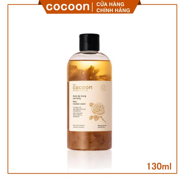 [ LÀM SẠCH - GIỮ ẨM CHO DA ] Nước tẩy trang hoa hồng cocoon(Rose micellar water)  300ml tốt nhất