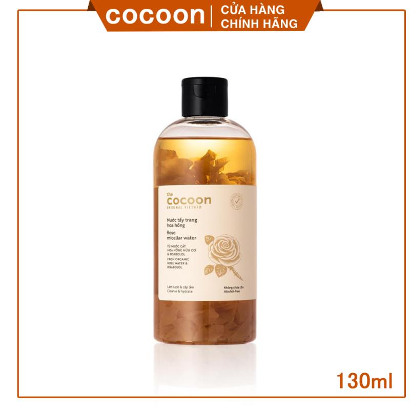 [ LÀM SẠCH - GIỮ ẨM CHO DA ] Nước tẩy trang hoa hồng cocoon(Rose micellar water)  300ml nhập khẩu