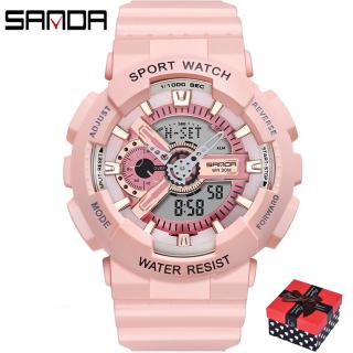 Đồng hồ Nữ thể thao SANDA NAGI , Chạy 2 Máy Cao Cấp Của Nhật, Chống Nước Rất Tốt - Đồng hồ nữ thể thao, Đồng hồ nữ thời trang, Đồng hồ nữ chống nước, Đồng hồ nữ đẹp, Đồng hồ nữ hàn quốc, Đồng hồ nữ giá rẻ thumbnail