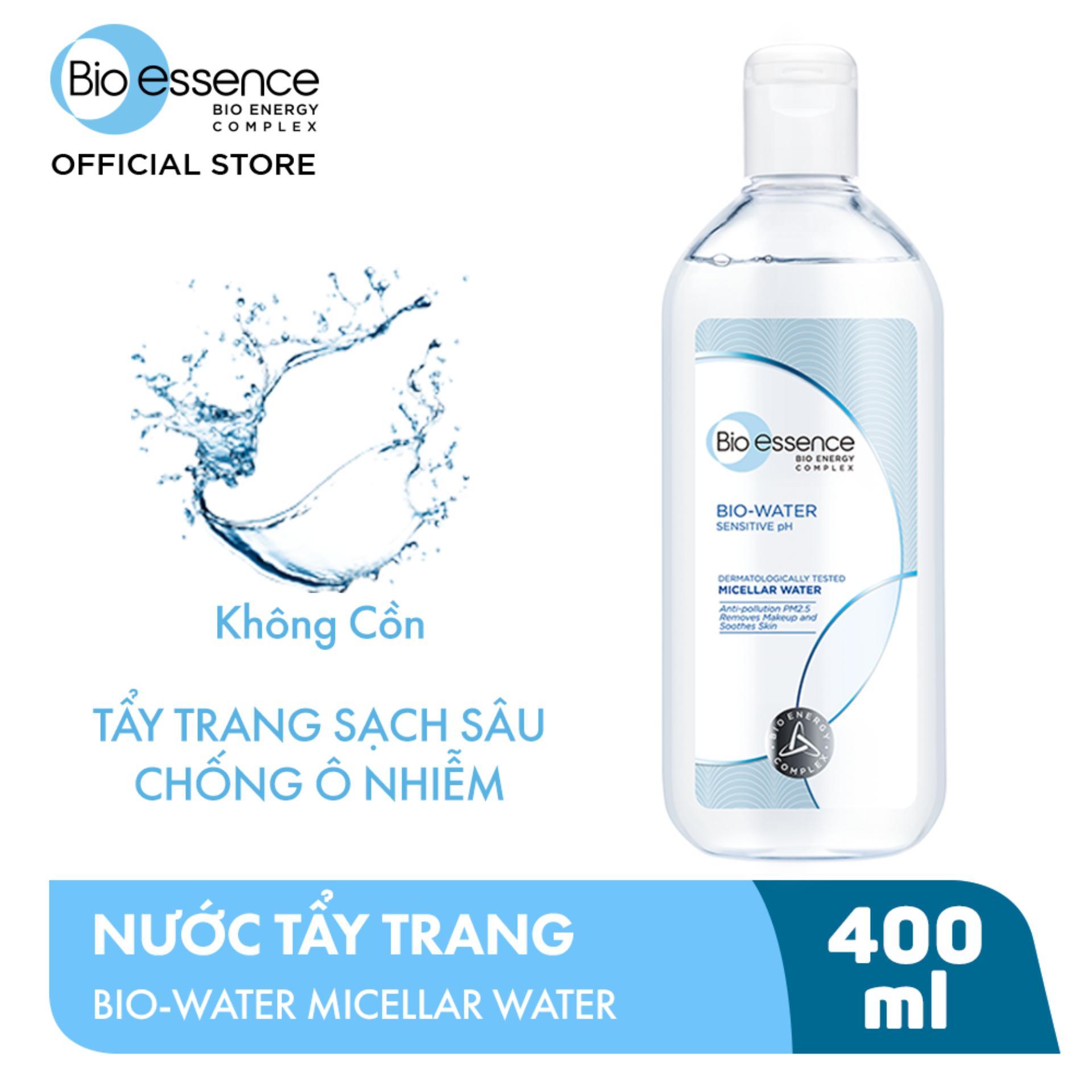 NƯỚC TẨY TRANG ẨM MƯỢT MỊN MÀNG BIO-ESSENCE BIO-WATER MICELLAR WATER  400ML