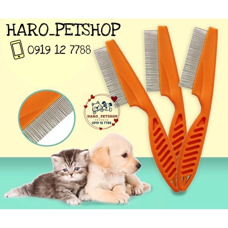 Lược chải ve rận cho chó mèo, đa dạng kích cỡ, chất lượng đảm bảo và cam kết hàng như mô tả