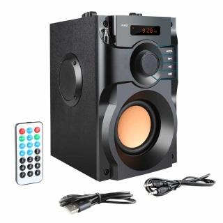 Loa Bluetooth Cao Cấp Super Bass RS - A100 (có điều khiển từ xa) thumbnail