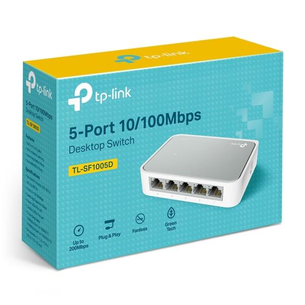 Giá Bộ chia mạng 5 cổng - Switch TP-Link TL-SF1005D 5-Port 10/100Mbps Desktop Switch