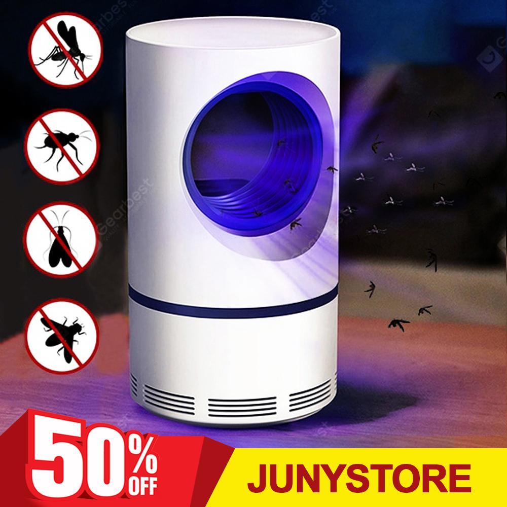Dụng cụ bắt muỗi hiệu quả Đèn bắt muỗi thông minh, Máy bắt muỗi diệt côn trùng, Tia UV có bước sóng thích hợp khiến muỗi và các côn trùng khác bị thu hút Cơ chế bắt muỗi bằng ánh sáng đèn Led. Bảo hành uy tín bởi JUNYSTORE.