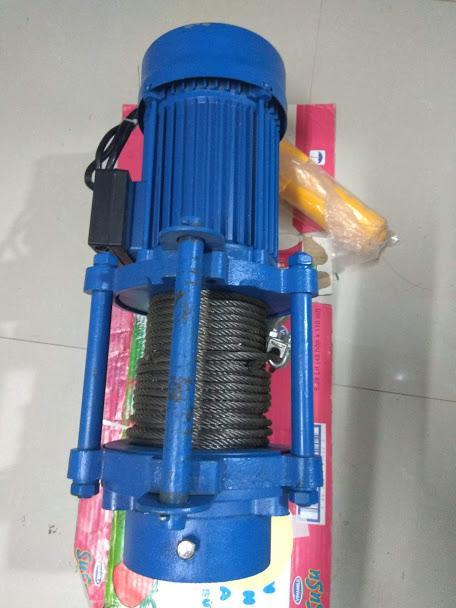 Tời nâng điện HiKari HK-2000 Madein Thái lan (nâng 500-1000kg) màu xanh