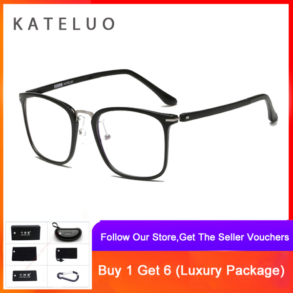 Giá bán KATELUO Computer Anti Blue Laser Ray Fatigue Radiation-resistant TR-90 Glasses Eyeglasses Frame Eyewear 9928