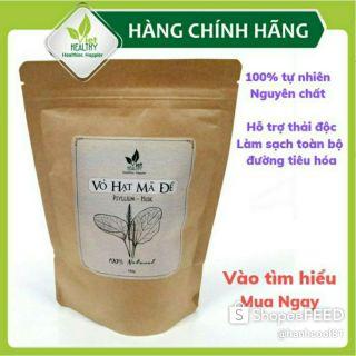 Vỏ hạt mã đề Viet Healthy 150gr, Vỏ hạt mã đề Viethealthy giàu chất xơ, hỗ trợ thải độc, làm sạch đường tiêu hóa thumbnail