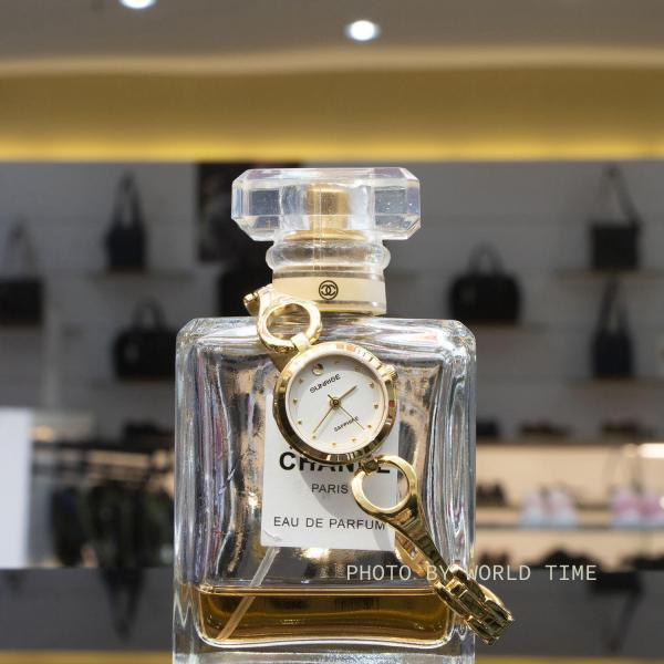 Đồng hồ Nữ Sunrise SL671SWA - Full Box , Thẻ BH hãng - Kính Sapphire chống xước, chống nước