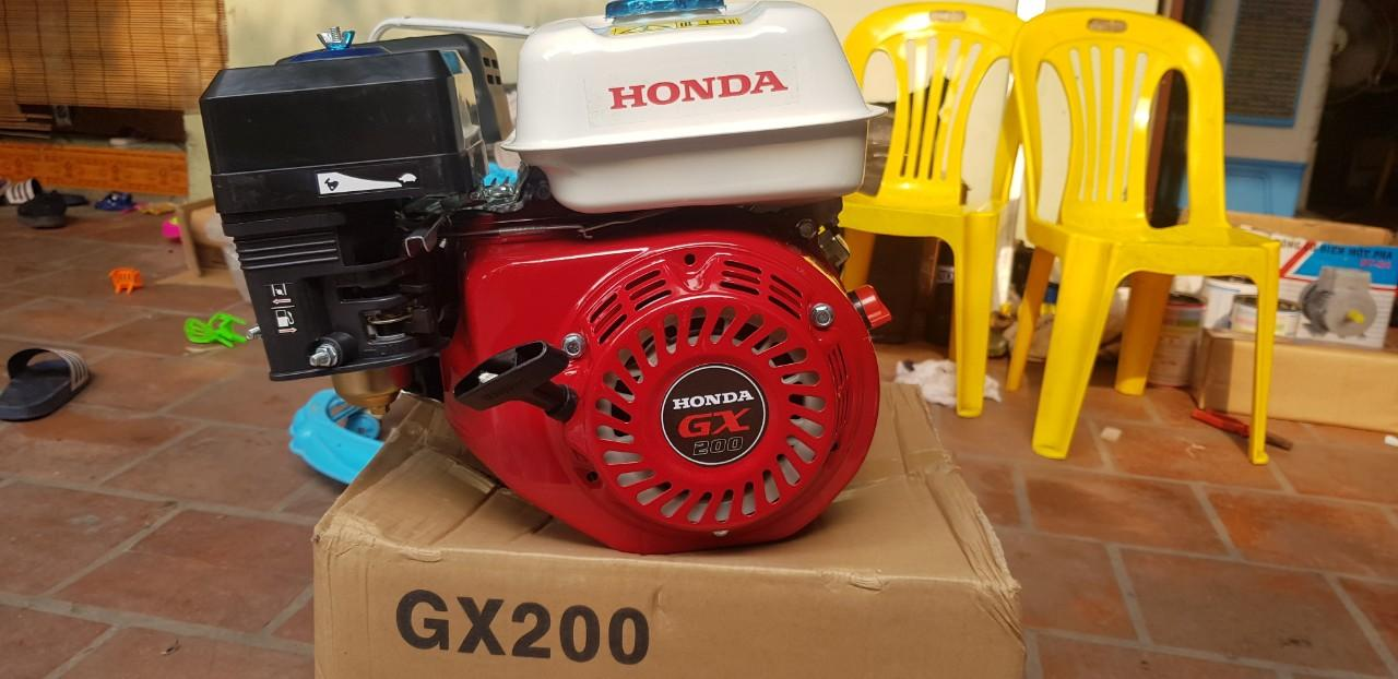 ĐỘNG CƠ XĂNG HONDA GX-200 - GX200 máy chạy xuồng , ghe thuyền