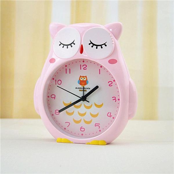 Đồng hồ báo thức để bàn hình cú mèo dễ thương bán chạy